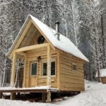 The Wooded Beardsman Tiny Forest Cabin