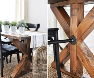 DIY Farmhouse Kitchen Table Projects For Beginners