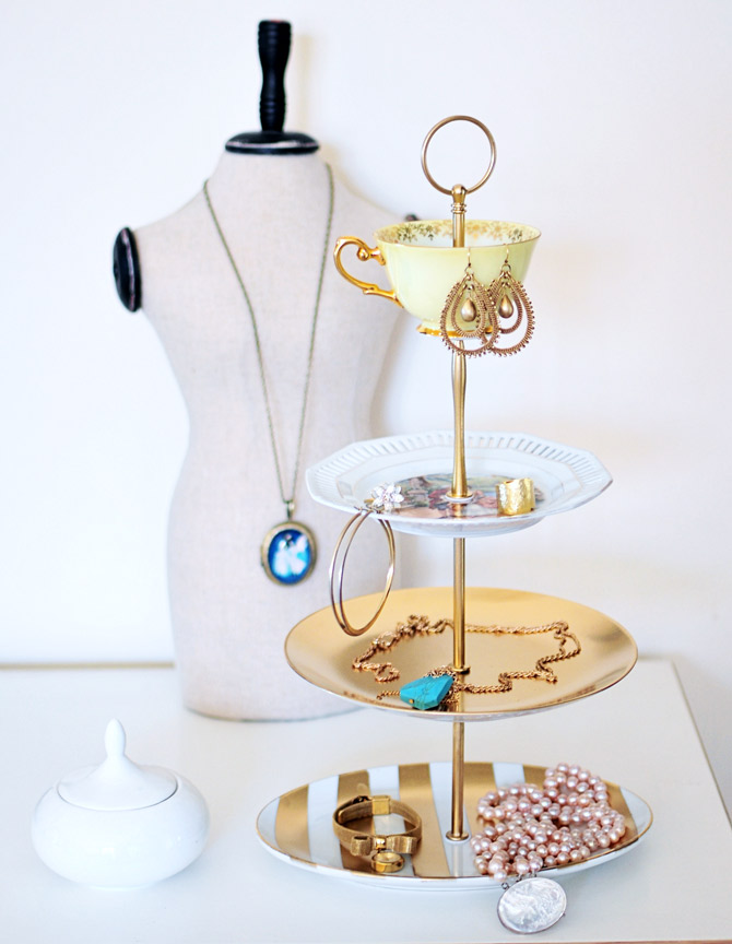 3-Tier Jewelry and Necklace Holder
