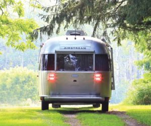 Iconic Airstream Camper Trailer is a Luxury Getaway on Wheel