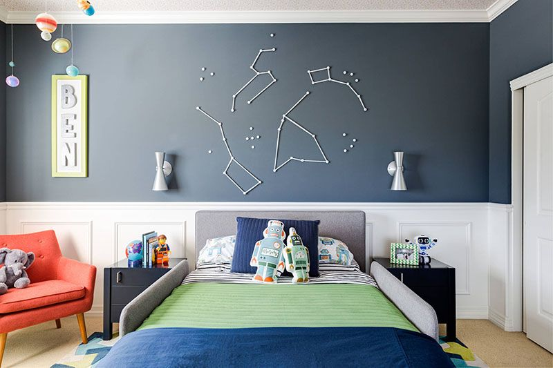 Modern Boy\'s Room Decor Ideas With Lots Of Charm And Flavor