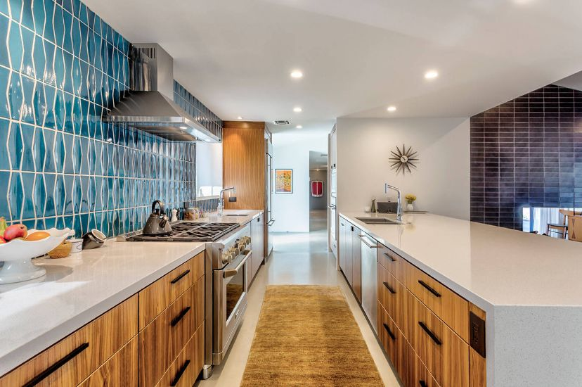 15 elements to give your kitchen an incredible mid century - Mid century kitchen cabinets ...