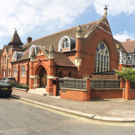 Church in London turned into a home