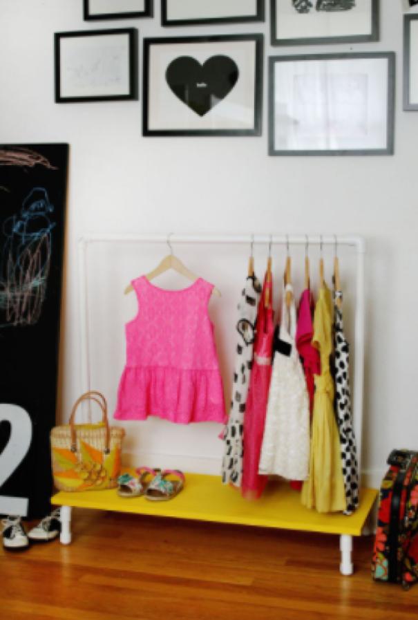Clothes Rack DIY Project