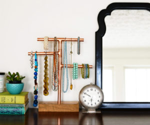 10 Great DIY Necklace Holder Ideas So They Never Get Tangled Again