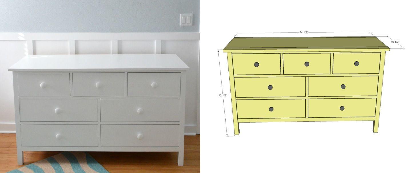 Modern and compact dresser design