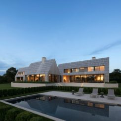 Modern Hamptons house by Bates Masi Architects - swimming pool
