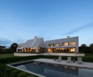 Modern Hamptons house by Bates Masi Architects - swimming pool