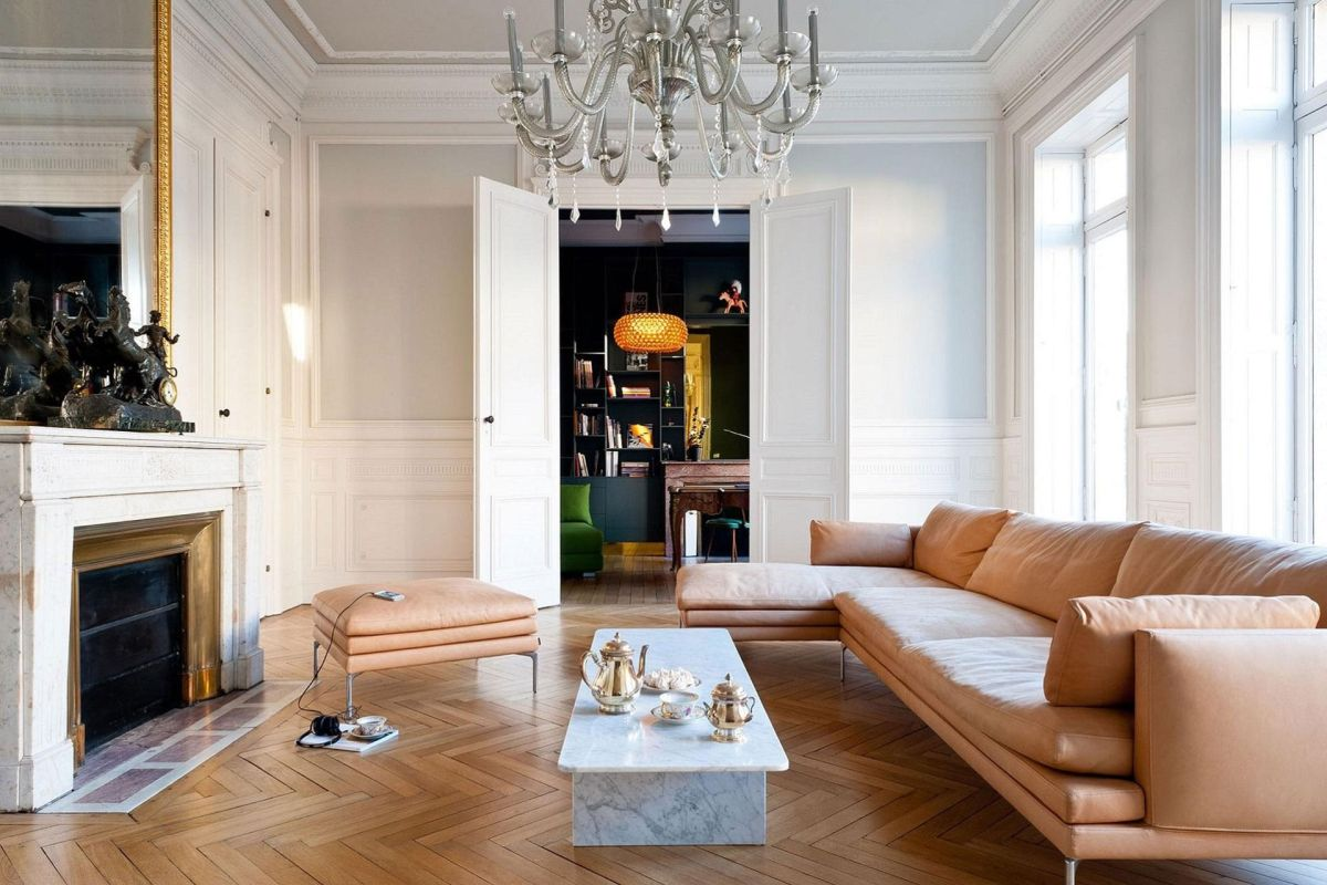 how to turn your space into a chic parisian living room