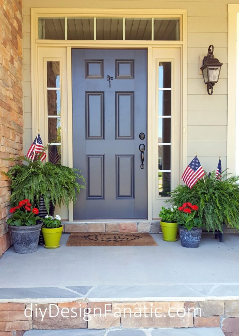 10 Last Minute 4th of July Porch Decor Ideas