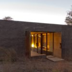 Rammed Earth Casa Design Entryway