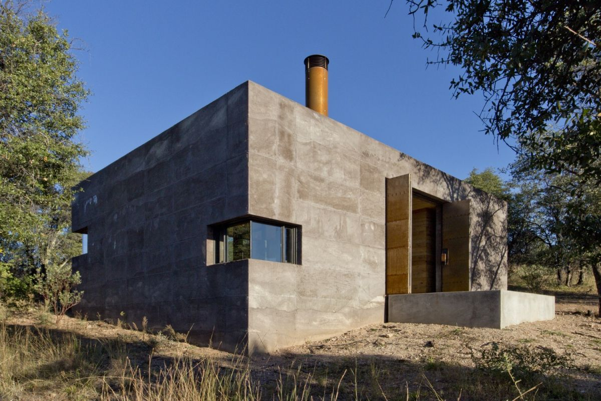Rammed Earth Casa Design - clean corners - Home Decorating Trends - Homedit