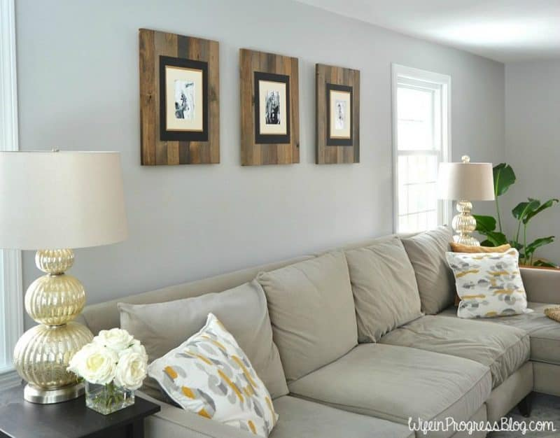Rustic Picture Frame DIY