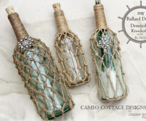 15 Wine Bottle Decor Concept – Easy With A Touch Of Magic