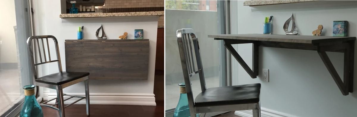 Murphy Desk Ideas That Change The Way You Work At Home - How To Make A Fold Down Table