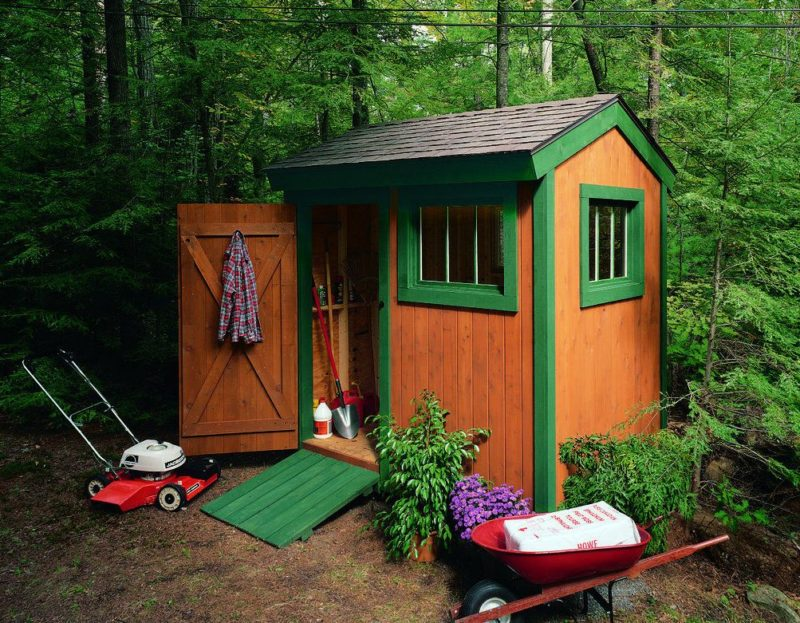 How To Build A Small Shed That Looks Cool On Top Of Being Practical