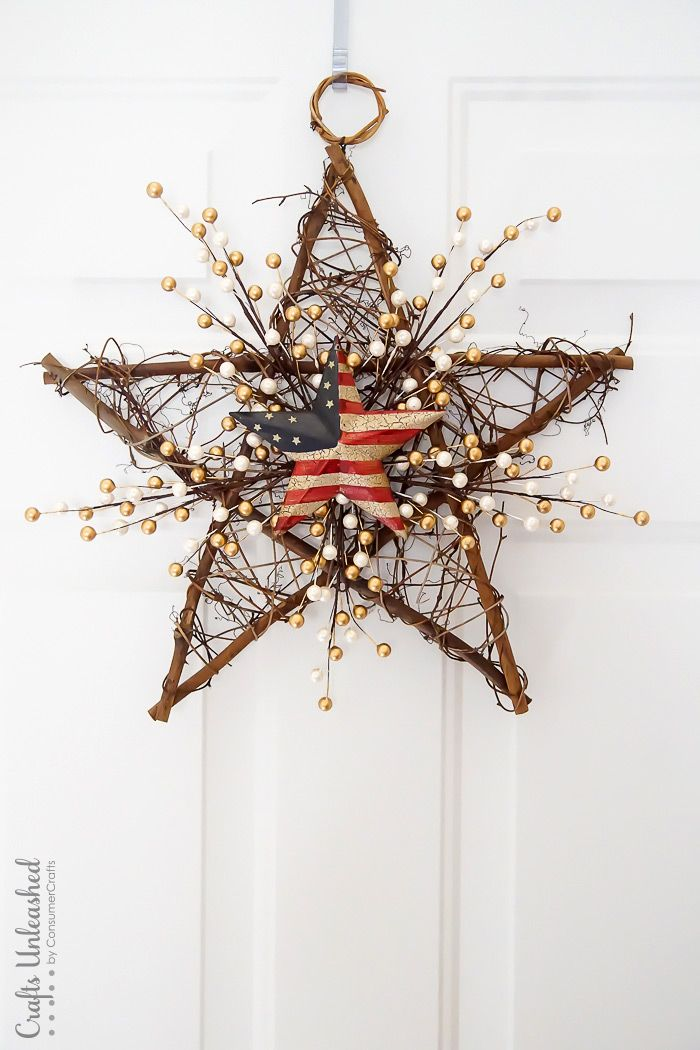 Cool 4th of July Wreath Concept That Would Look Perfect On Your Front Door