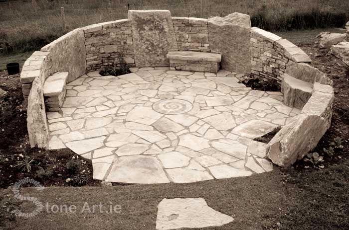 Stone art Patio
