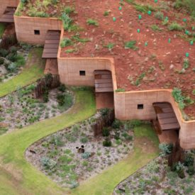 The Great Wall of WA Rammed Earth - Luigi Rosselli