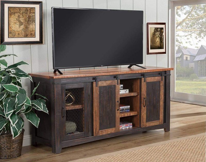 Farmhouse TV Stand Ideas With Extra Charming Designs