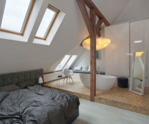 Eclectic Attic Apartment Uncovers All Its Beautiful Features