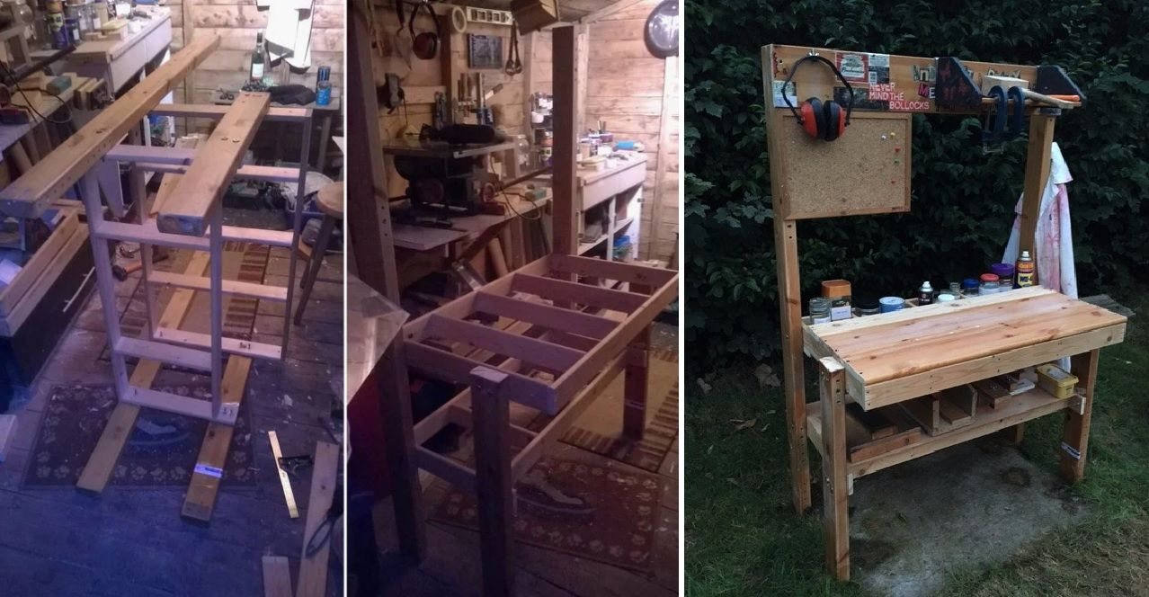 Small workbench for small projects