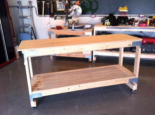 An all-purpose workbench for all sorts of projects