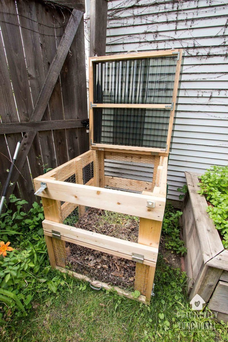 10 DIY Compost Bin Concept That Take Gardening To A New Level