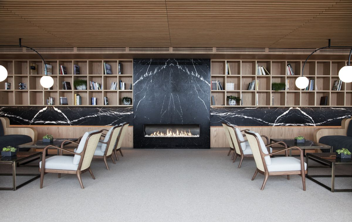 Magnificent Designs And Concepts Centered Around The Modern Fireplace