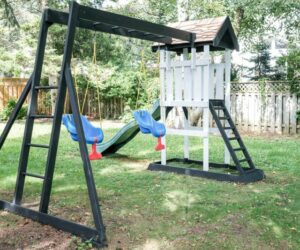 How To Build A Great DIY Swing Set For A Perfect Summer Time