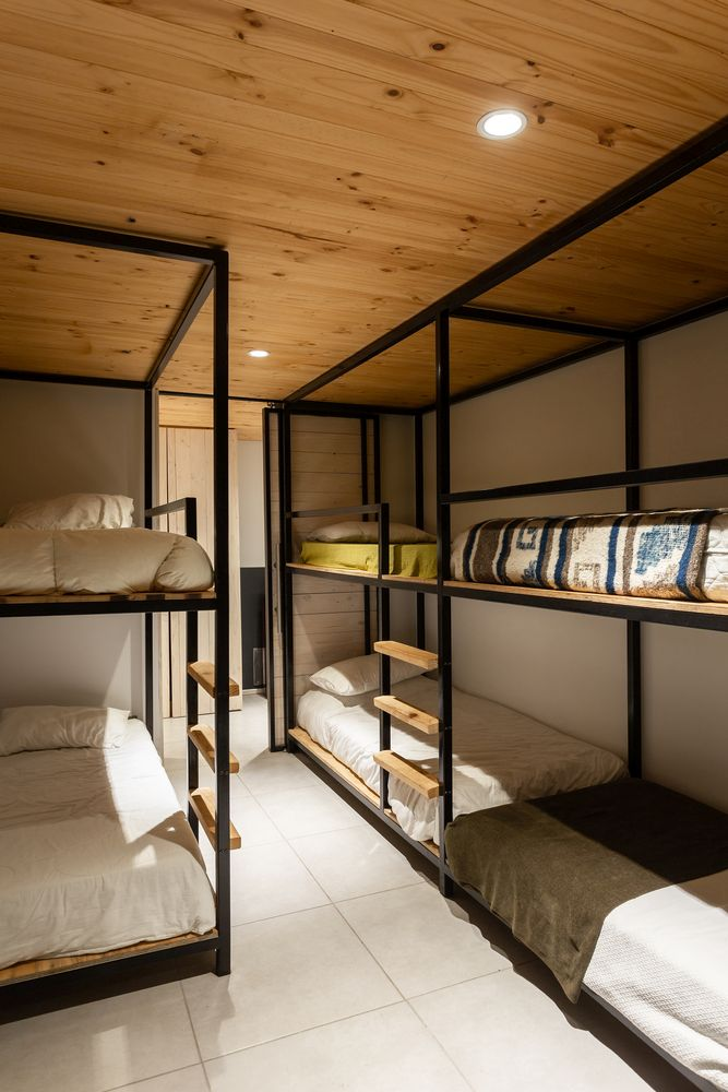 The house in general is modest both in design and size which is best reflected in this bedroom