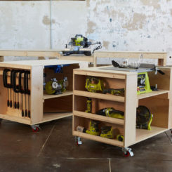 Roll Away Workbench System