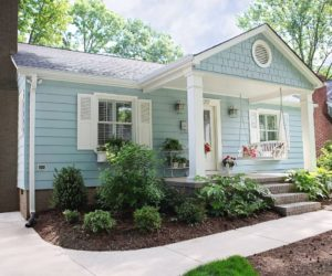 The beauty of a bungalow home