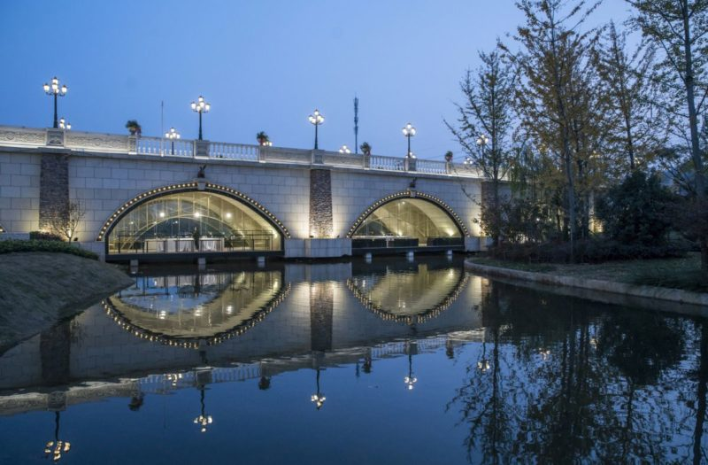 The Fortune Bridge in Zhengzhou Is Now A Unique Commercial Attraction