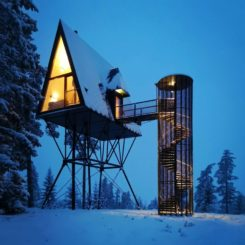 Winter PAN-cabins - sivilarkitet espen surnevik as