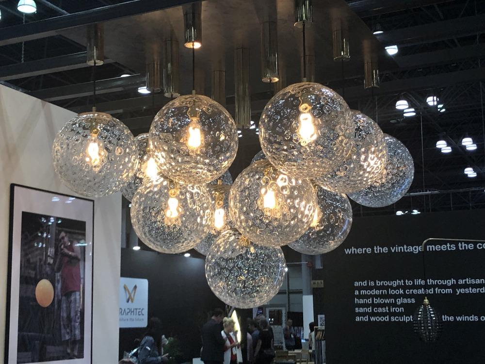 A Mass of Glass Globes