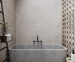 Concrete Bathrooms Are Surprisingly Welcoming – See For Yourself
