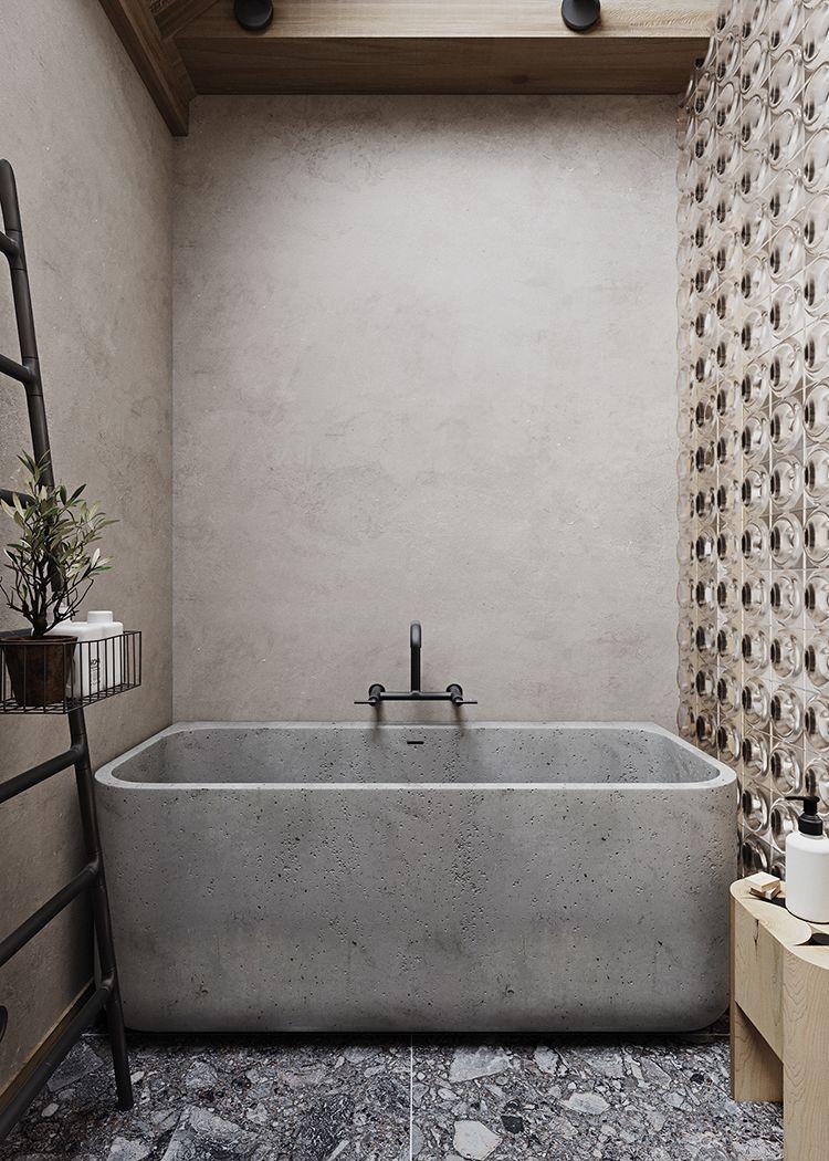 extraordinary concrete bathroom ideas | Concrete Bathrooms Are Surprisingly Welcoming - See For ...