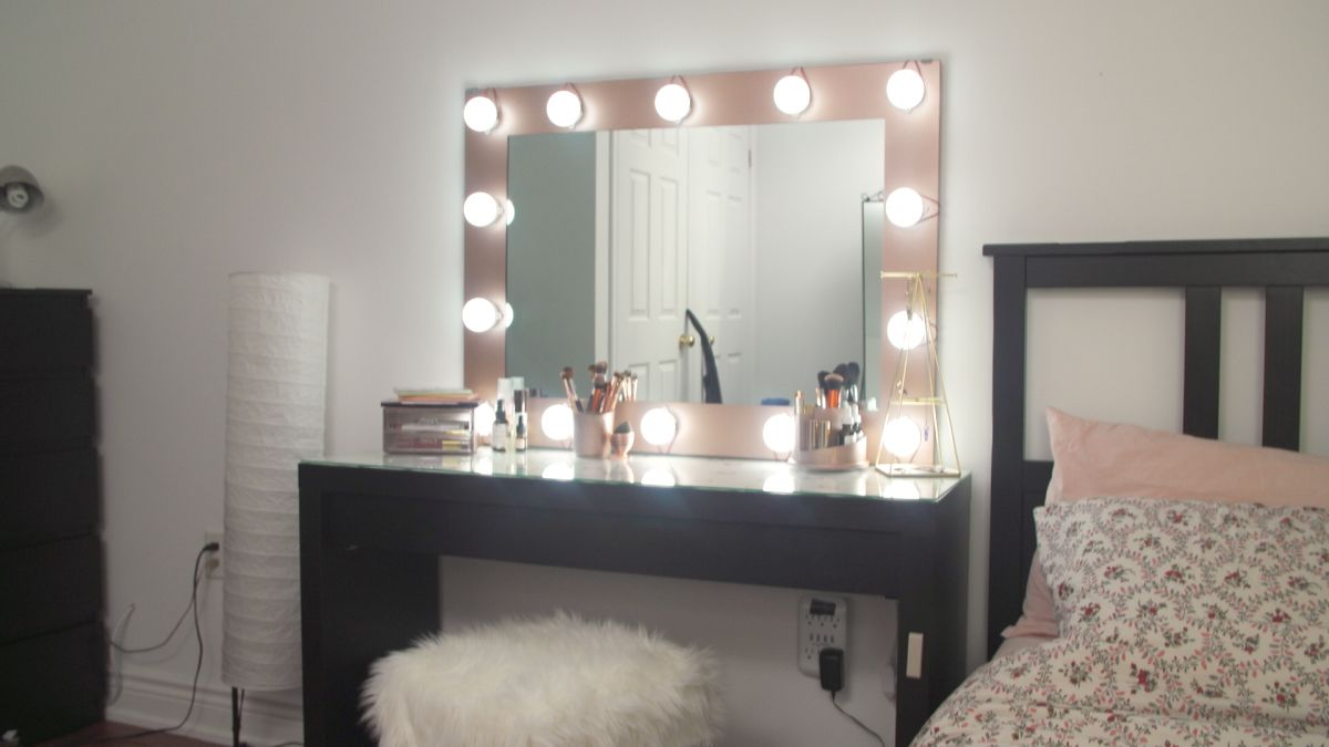 10 Diy Vanity Mirror Projects That Show