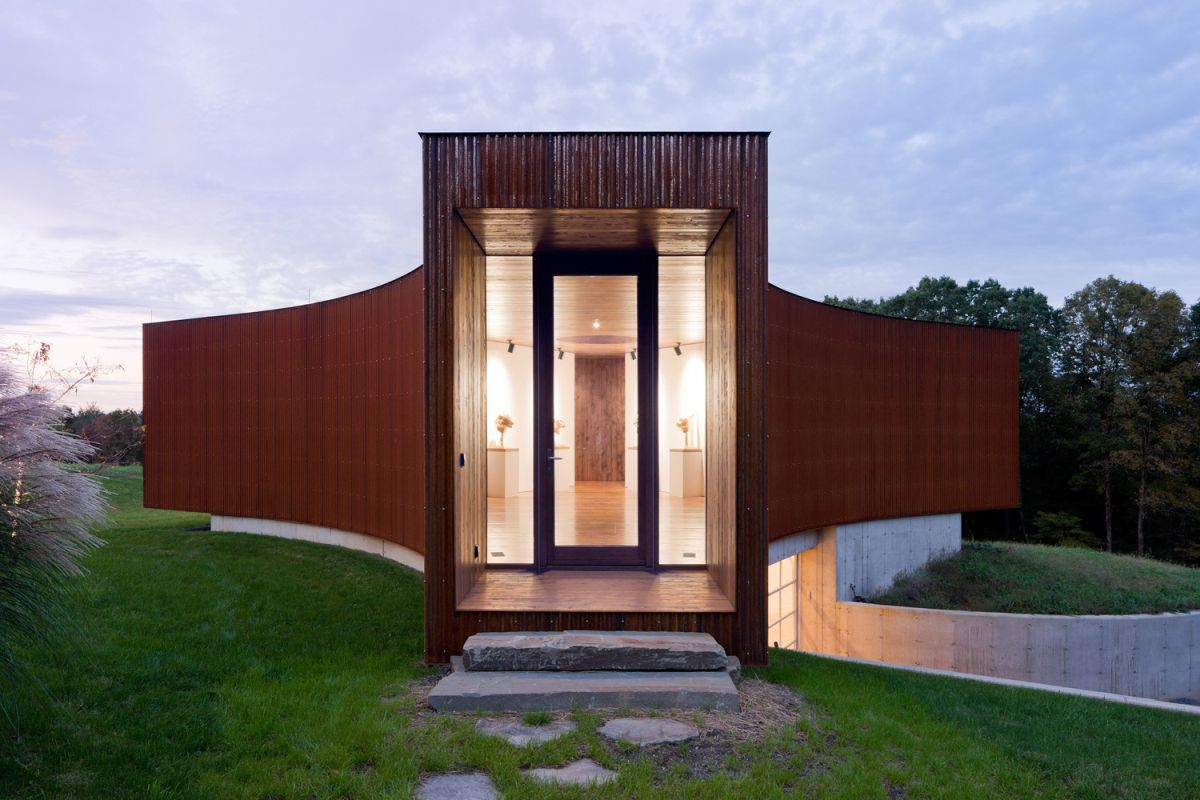 Corten Steel HHF architects + Ai Weiwei - Home Decorating Trends - Homedit