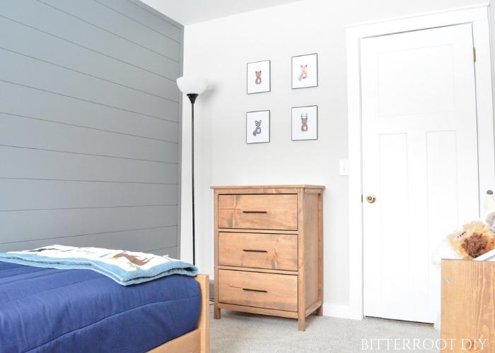 Small three-drawer dresser
