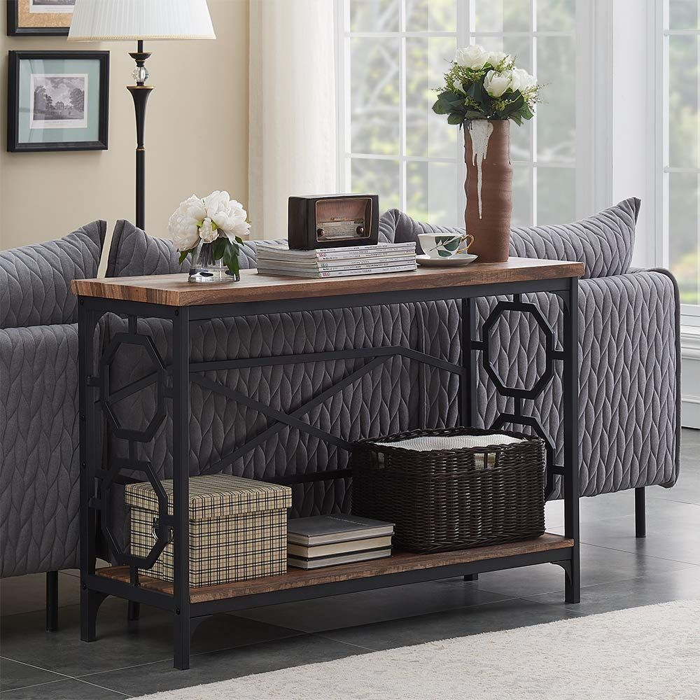10 Rustic Sofa Table Designs You Can Easily Sneak Into Your Modern Home