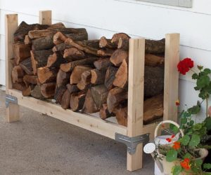 DIY Firewood Rack Ideas With Ingenious Designs