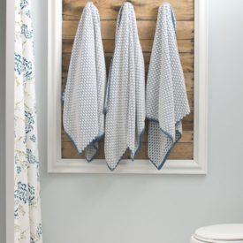 Frame Guest Bathroom Towel Rack