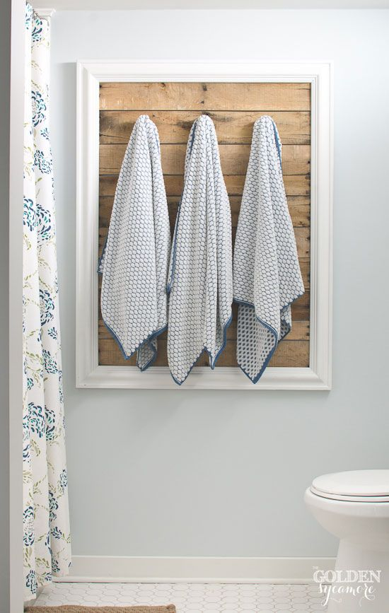 15 Great Bathroom Towel Storage Ideas For Your Next Weekend Project
