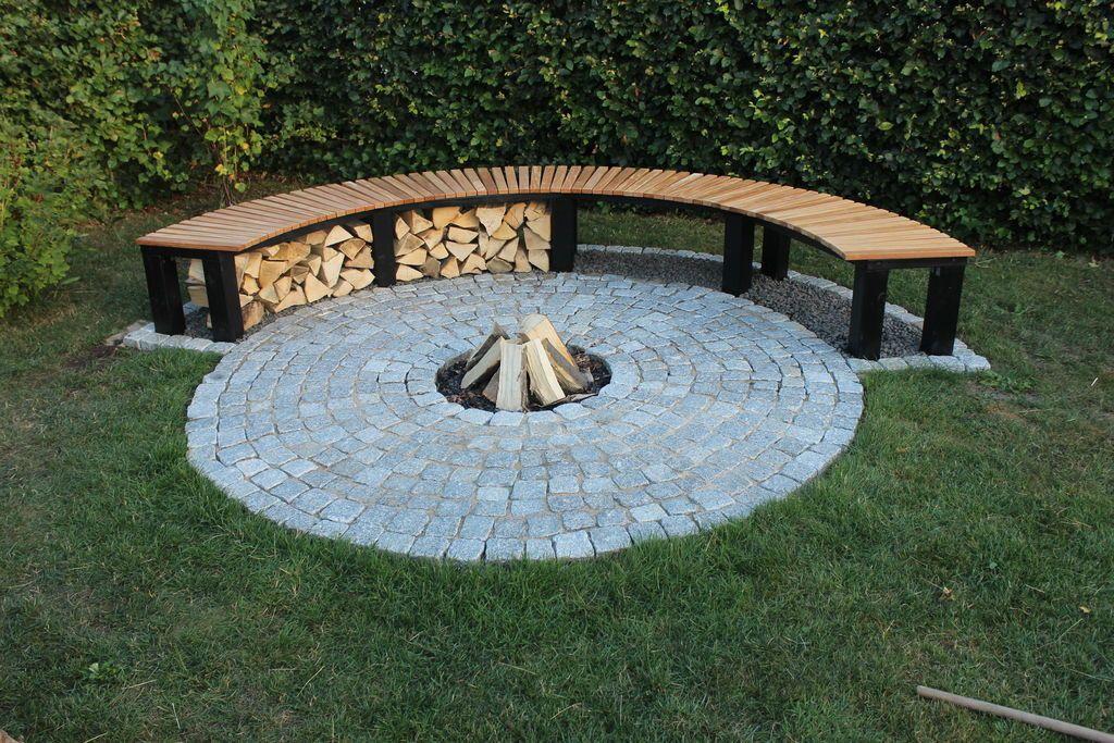 Diy Firewood Rack Ideas With Ingenious, Outdoor Log Rack