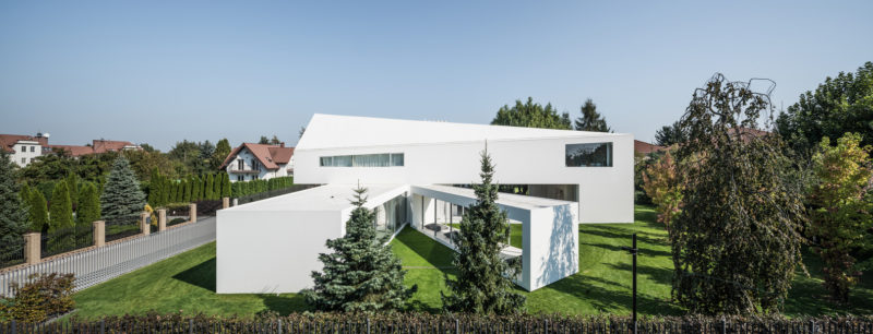 This Modern House in Poland Has A Moving Terrace