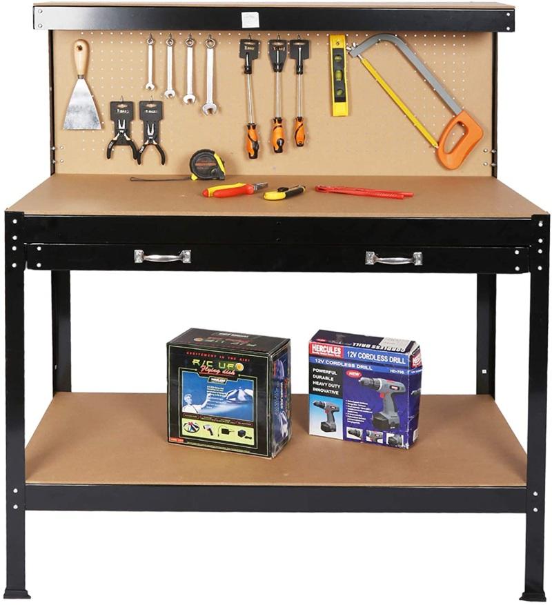 Standing Steel Workbench Tool Storage Work