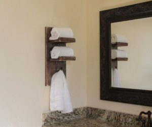 15 Great Bathroom Towel Storage Concept For Your Next Weekend Project