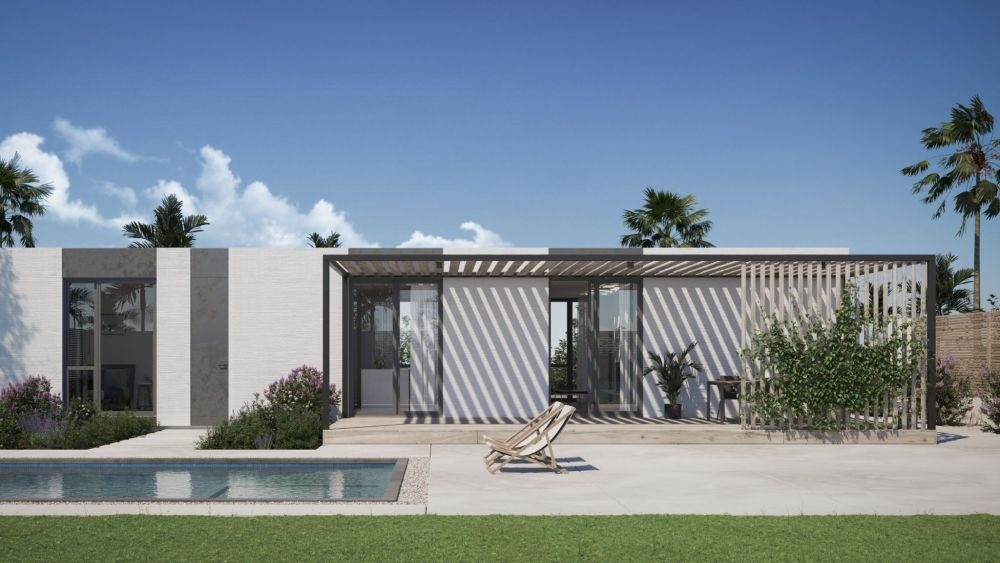 3D-Printed house, California Cool
